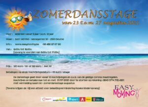Easy Moving Zomer Dansstage 2021
